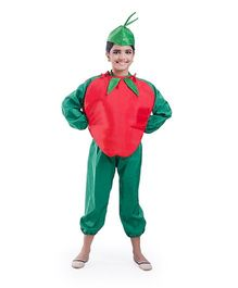 Fancydresswale Apple Fancy Dress - Red Green