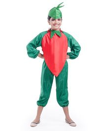 Fancydresswale Red Chili Fancy Dress - Red Green