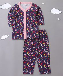 Playbeez Floral Print Sleepwear - Multi Color