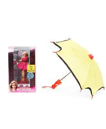 Barbie Doll With Accessory 10 cm (Color May Vary)