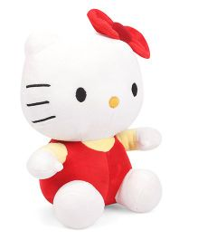 Dimpy Stuff Hello Kitty Soft Toy Red White - 30 cm