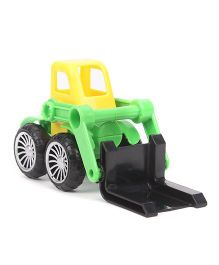 Grv Construction Toy Truck - Yellow Green Black