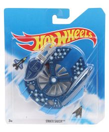 Hot Wheels City Air Craft Strato Saucer - Blue