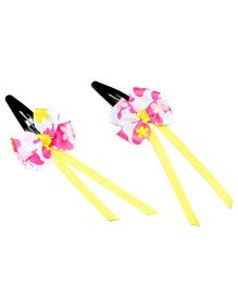 Ribbon Candy Butterfly Dangler Tic Tacs Pack Of 2 - Pink & Yellow