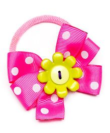Ribbon Candy Cute Hair Tie - Pink & Green