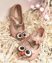 Mini Sed Owl Sandals - Beige
