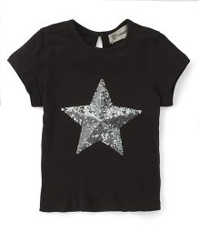 Cubmarks Top With Sequence Star - Grey