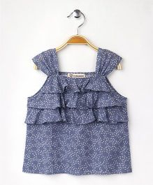 Cubmarks Layered Top - Blue