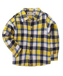 Cubmarks Checkered Shirt - Yellow