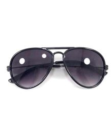 Miss Diva Smart Aviator Sunglasses - Black