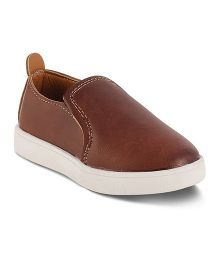 Kittens Slip-On Sneakers - Brown