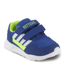 Kittens Sports Shoes - Royal Blue Green