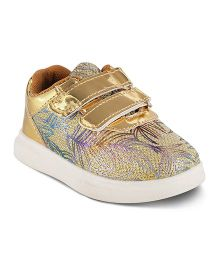Kittens Party Wear Shoes - Golden