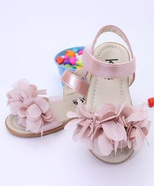 Kidlingss Party Wear Sandals - Pink