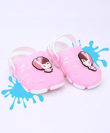 Kidlingss Trendy Clogs - Baby Pink