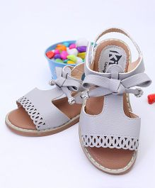 Kidlingss Party Wear Sandals - Grey