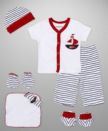 Wonderchild 7 Piece Gift Set For Girls - Red