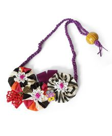Soulfulsaai Floral Necklace - Multicolor