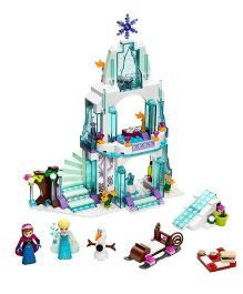 Emob Ice Castle Doll House Block Set Multi Color - 299 Pieces