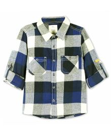 Cherry Crumble California European Check Cotton Shirt - Multicolor