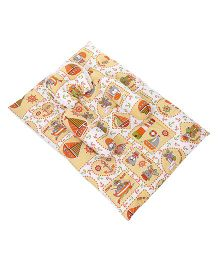 Mee Mee Teddy Printed Mattress Set - Yellow