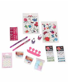 Disney Princess Tattoo N Nail Fashion Kit - Pink