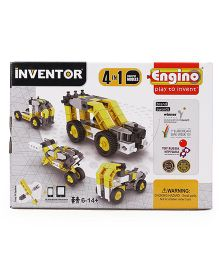 Engino Inventor 4 In 1 Industrials Models - Yellow