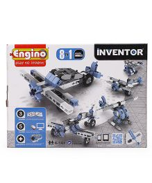 Engino Inventor 8 In 1 Aircrafts Models - Blue