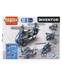 Engino Inventor 12 Models Aircrafts - Blue