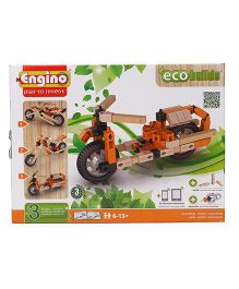 Engino Eco Motorbikes - Orange