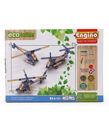 Engino Eco Helicopters - Blue