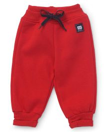 Little Kangaroos Track Pant With Drawstring - Red