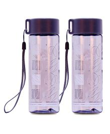 Small Wonder Gym Water Bottle Grey Pack Of 2 - 250 ml