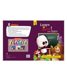 Learn To Write With Zoey Difficult Words Stories And Poems Book - English