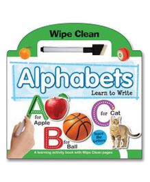Alphabets Learn To Write - English
