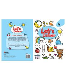 Let's Colour Book A - English