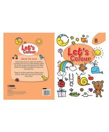 Let's Colour Book B - English