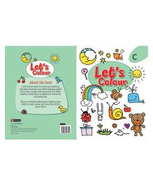 Let's Colour Book C - English