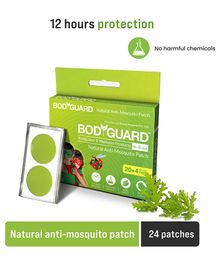 Bodyguard Premium Natural Anti Mosquito Patches Pack Of 1 - 24 Patches