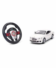 Mitashi Dash RC Rechargeable Bentley Car - White