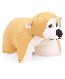 IR Folding Pillow Monkey - Brown