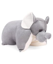 IR Folding Pillow Elephant - Grey