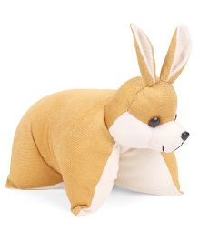 IR Folding Pillow Bunny - Brown
