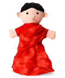 IR Hand Puppet Mother Red - 35 cm