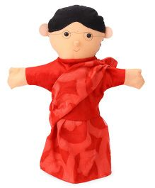 IR Teacher Hand Puppet Red - 40 cm