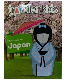 Cocomoco Kids Atlas Goes to Japan Book