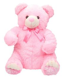 Liviya Sitting Teddy Bear Soft Toy Pink - 60.5 cm