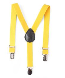 Kid-o-nation Plain Suspenders - Yellow