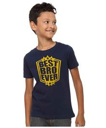 BonOrganik Best Bro Ever Tee - Navy Blue