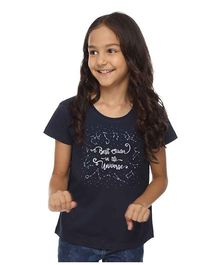 BonOrganik Best Sister In The Universe Tee - Navy Blue